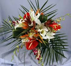 tropical flower arrangements bouquet kremp
