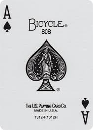 bicycle rider back cards of play