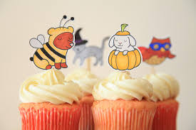 halloween toppers unify handmade halloween cupcake toppers