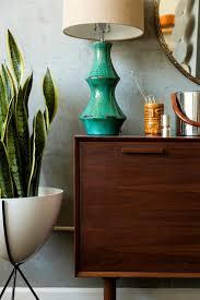 mid century indoor planters