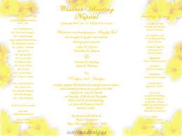 wedding invitation wording examples philippines