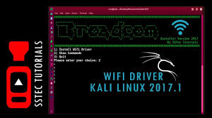 kali linux latest tutorial how to install wifi driver in kali linux 2017 1 braodcom 802 11n