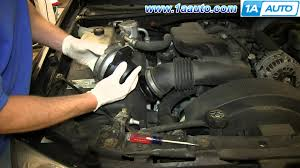 how to install repalce maf mass air flow sensor v8 5 3l gmc envoy