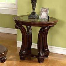 round coffee table and end tables extraordinary wood end tables with glass top side table round cherry