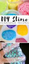 how to make saline solution slime recipe for kid u0027s science