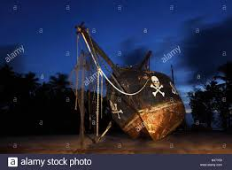 the seychelles la digue union estate old shipyard pirate ship