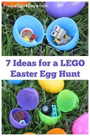 easter hunt eggs ideas for a lego easter egg hunt