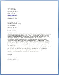 Medical Resumes And Cover Letters Cover Letter Examples Medical Assistant Cover Letterdental Nurse