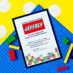 lego birthday invitations free ideas egreeting ecards