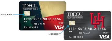 debit card for chip credit debit cards tdecu