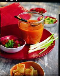 recette cuisine gaspacho espagnol recette gaspacho andalou