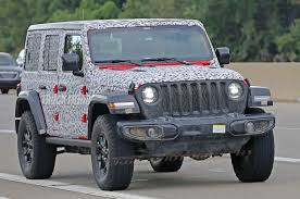 jeep gray wrangler spied 2018 jeep wrangler jl unlimited totally uncovered photo