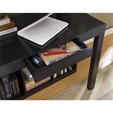 ameriwood home parsons desk with cubbies black walmart com