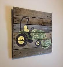 tractor boys rustic wall art old tractor farm barn bedroom home