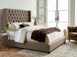 upholstered headboard and footboard furniture upholstered bed