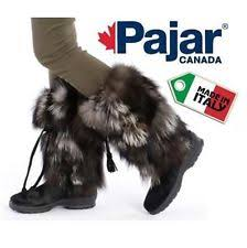 s shearling boots canada s pajar black waterproof shearling lined zipper boot
