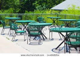 Patio Furniture Metal Metal Outdoor Furniture Stock Images Royalty Free Images
