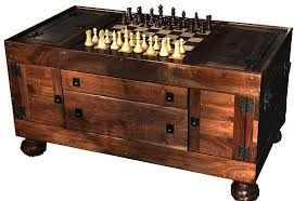 chess board coffee table for daniel a coffee table with a built in chess board and i love