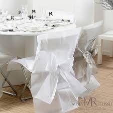 housse de chaise blanche des housses de chaise pour votre décoration de mariage le de