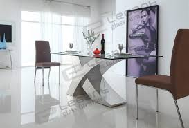 dining room fabulous modern glass dining room sets tables