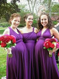 violet bridesmaid dresses maternity bridesmaid dresses cheap purple color a line empire