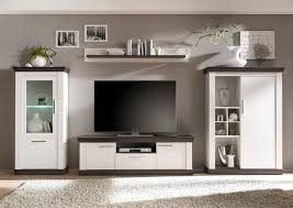 Wohnzimmerschrank Mit Bettfunktion Günstige Wohnwände Im Landhausstil Online Kaufen Baur