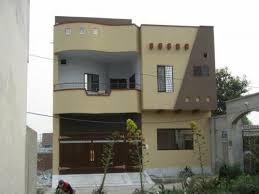 pakistani new home designs exterior views triple story beautiful house saiban properties blog images