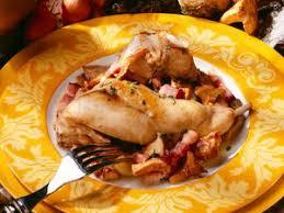 lapin a cuisiner blanquette de lapin facile et pas cher recette sur cuisine actuelle