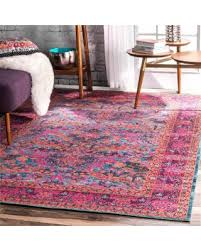 Pink Runner Rug Shopping Special Nuloom Traditional Floral Pink Runner Rug