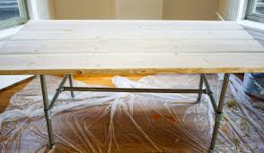 Diy Wooden Table Top by How To Make Your Own Diy Wood Table Wandeleur