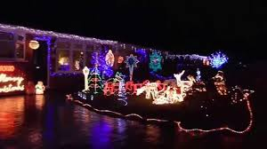 drive by christmas lights christmas lights warwick drive hazel grove youtube