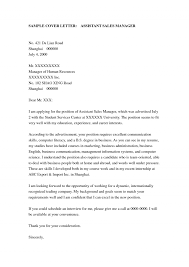 sales cover letter examples cover letter