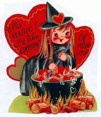 retro valentines i feel it in my bones vintage valentines and scary