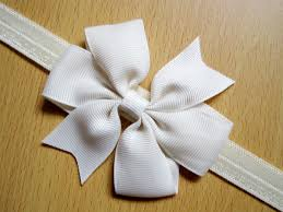 bow for hair hair bow headband diy satin ribbon big bow elastic headband hair