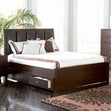 bedroom wood bed frame queen modern platform bed king single bed