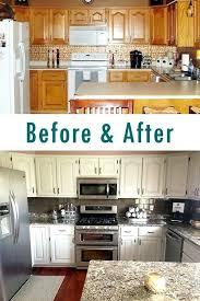 painting oak kitchen cabinets cream white oak kitchen cabinets faced
