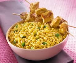 recette facile blé ebly au curry et au coco