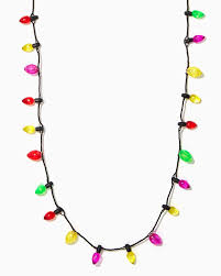 light up necklace charming