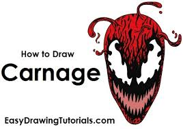 draw carnage spider man