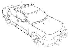 cartoon cars coloring pages police car coloring pages to print olegandreev me