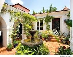 small style homes style homes hacienda house plans with courtyard small