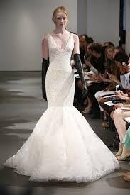 vera wang spring 2014 v neck mermaid wedding dress recent bridal