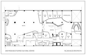 center colonial floor plans floor plan san francisco cultural center