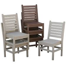 Outdoor Plastic Chairs Walmart Eagle One Recycled Plastic Stackable Chair Walmart Com