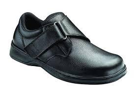 Comfortable Supportive Shoes Diabetic Neuropathy Comfortable Men U0027s Velcro Shoes Broadway Black