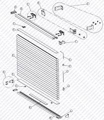Removing Levolor Blinds Shade Parts Schematic