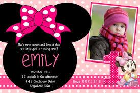 minnie mouse birthday party invitations badbrya com