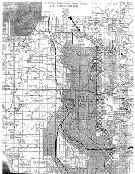 Map Of Ogden Utah by Uinta Wasatch Cache National Forest Districts