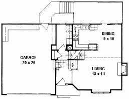 quad level house plans plan 1225 3 bedroom quad level home