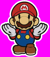 Memes Background - when a speedy dead meme has a magenta background papermario